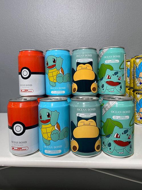 Ocean Bomb Pokémon brus (4 pack) Nr 2