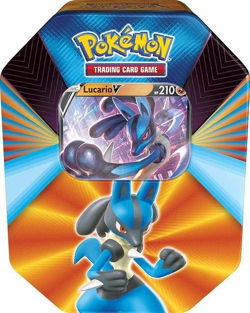 Pokemon V Forces Tin Box Lucario V