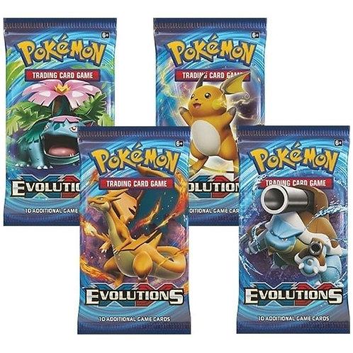 10 Pakker med Evolutions booster pakke 5 år gammelt Base set Reprint settet!!