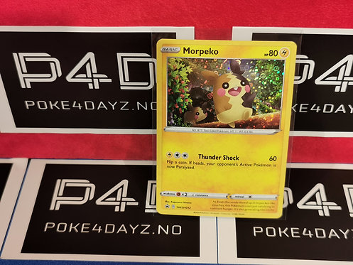 Pokemon Morpeko General Mills 25th Anniversary Stamped Holo Foil Promo MINT