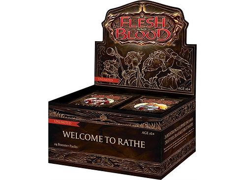 På lager Flesh & Blood Welcome to Rathe Display 24 boosterpakker