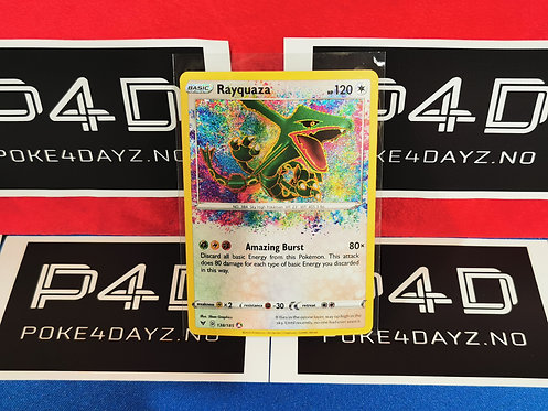 Rayquaza - 138/185 - Amazing Rare Sword & Shield: Vivid Voltage Singles