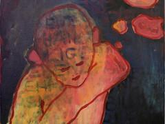 Acryl auf Leinwand. 30x30 cm  2013, © Christa Redik