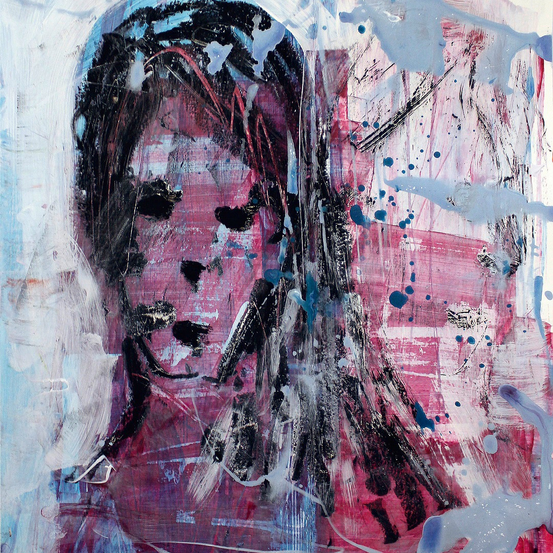 Ölpastelle, Acryl auf Karton. 40x50 cm  2013, © Christa Redik