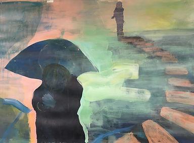 Umbrella. Malerei