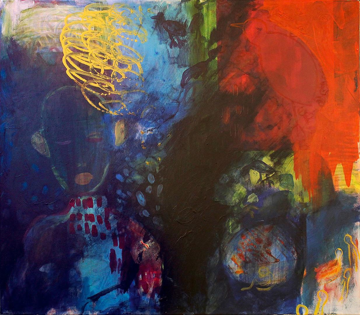 Acryl auf Leinwand. 70x100 cm  2013, © Christa Redik