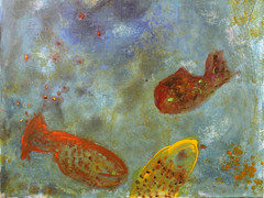 Acryl auf Leinwand. 50x50 cm 2012, © Christa Redik
