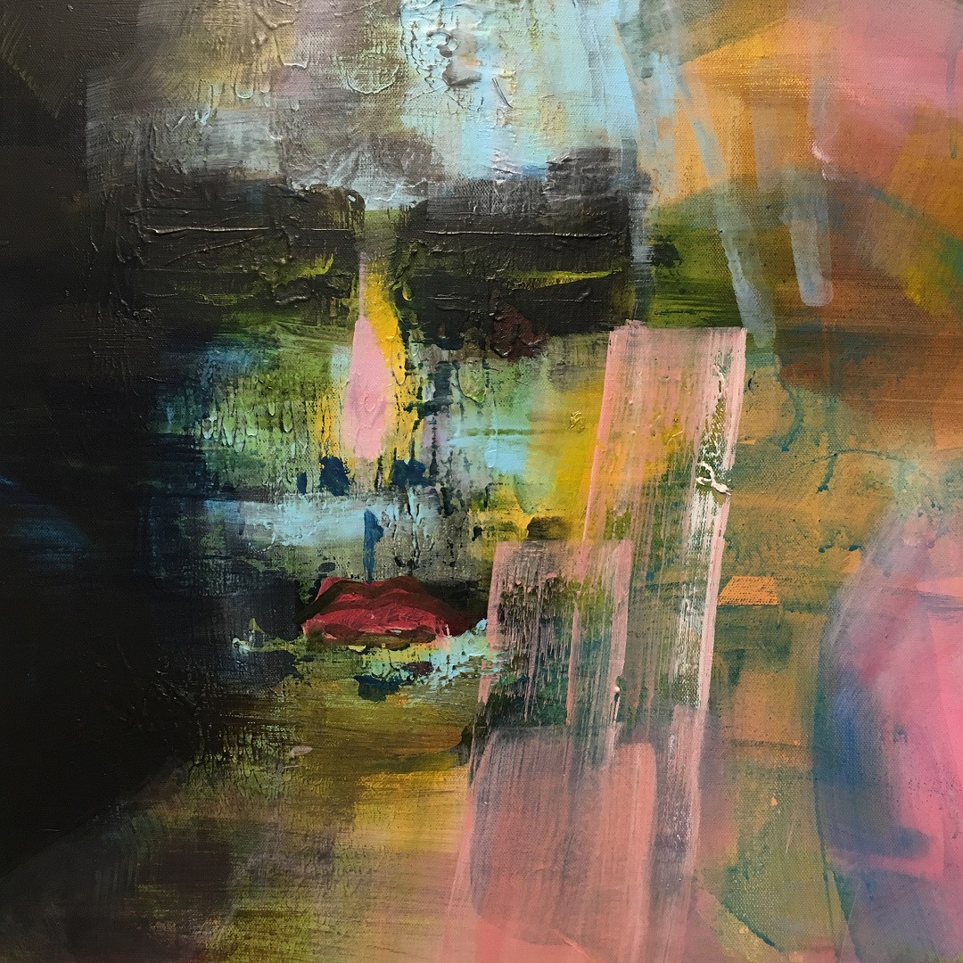 Acryl auf Leinwand. 50x50 cm  2019, © Christa Redik