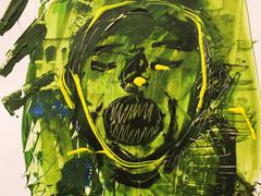 Ölpastelle, Acryl auf Karton. 50x50 cm  2012, © Christa Redik