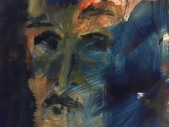 Pigmente mit Acrylbinder auf Papier. 40x50 cm 2020, © Christa Redik
