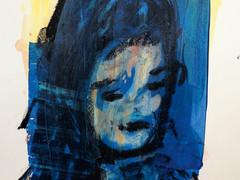 Ölpastelle, Acryl auf Papier. 40x50 cm  2012, © Christa Redik