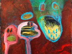 Acryl auf Leinwand. 60x60 cm  2011/12, © Christa Redik