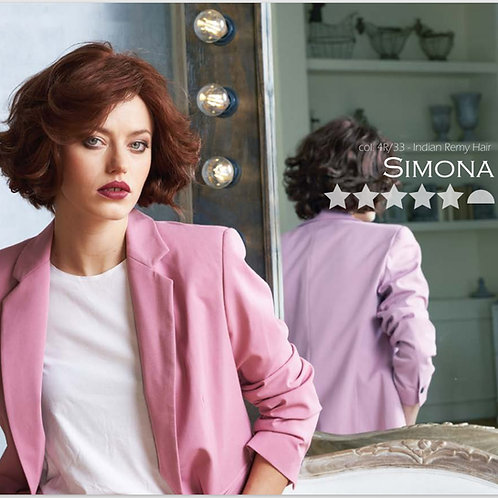 Parrucca naturale Simona