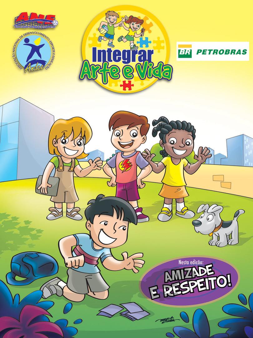 Revista Petrobrás Projeto Integrar