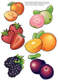 Frutas para linha de Rótulos