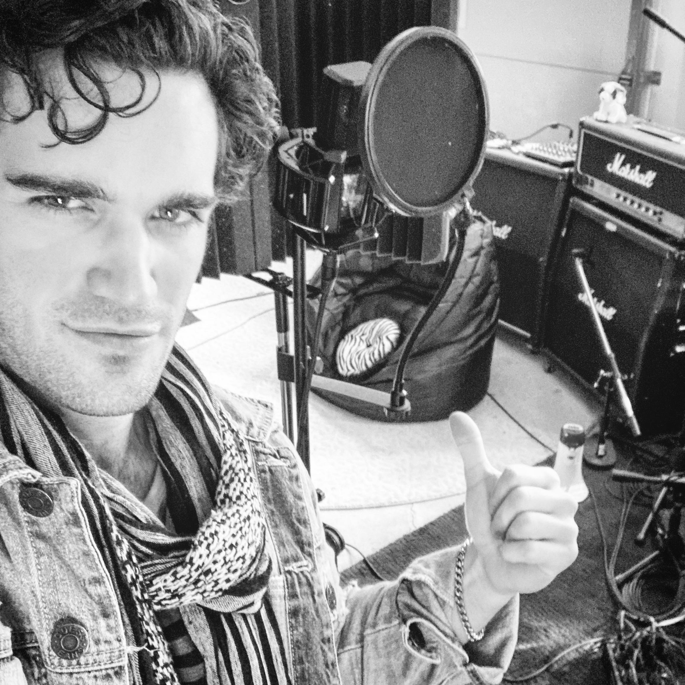 Jason Damico In The Studio