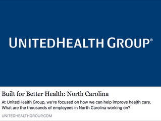 New Commercial Work - Built For Better Health: North Carolina