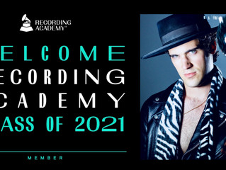 Jason Damico Accepted Into Recording Academy as Artist, Songwriter & Producer!