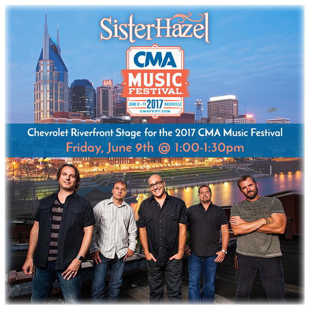 SH CMA Fest Riverfront Stage graphic