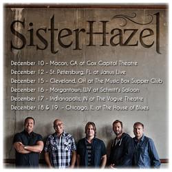 Sister Hazel December Tour graphic