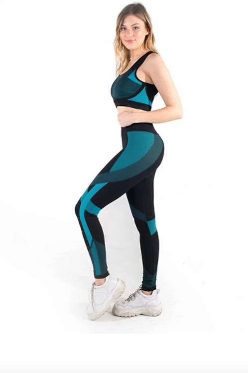 Blue Workout Apparel