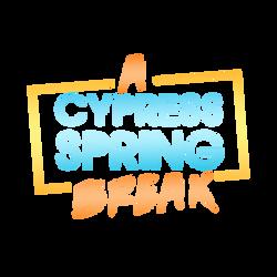 A Cypress Spring Break Logo