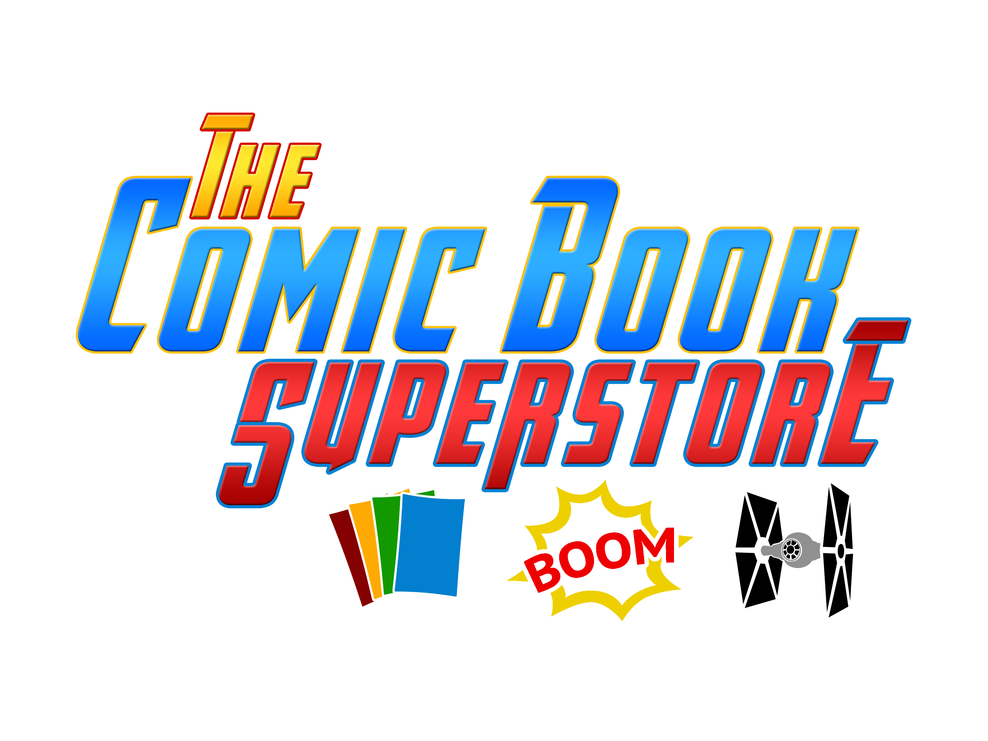 The Comic Book Superstore Logo 3-1 (colored 1)