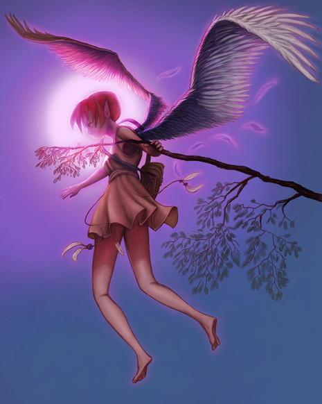 Winged red haided fairy.jpg