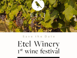 1st Etel Winery Festival: 1st September 2018