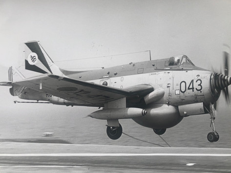 849B launch from HMS ARK ROYAL 1975
