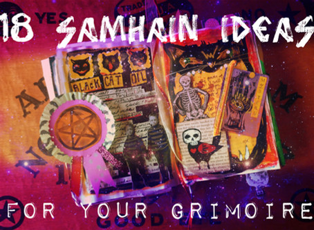 18 Spooky Samhain Prompts for Your Grimoire