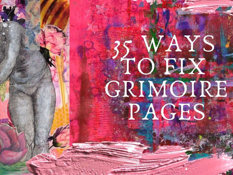 35 Ways To Fix Grimoire Pages You Don't Love