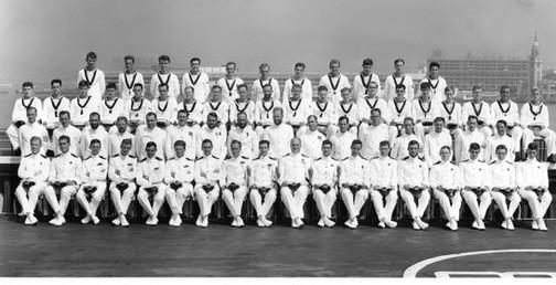 849A HMS VICTORIOUS 1966