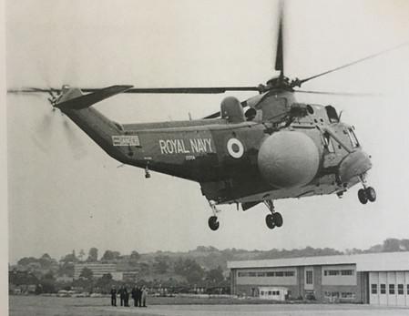 First flight at Westlands 1981
