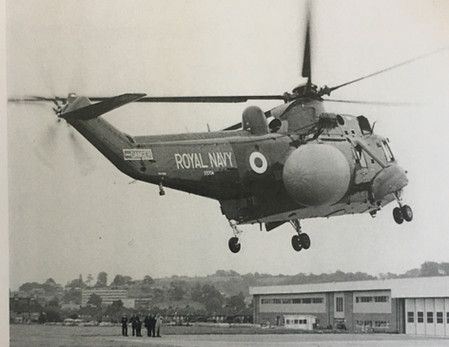 First Flight of the Mk2 in 1982
