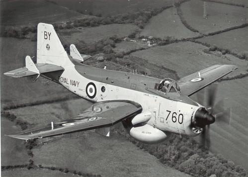 Mike Cole-Hamilton over south Pembrokeshire 1967