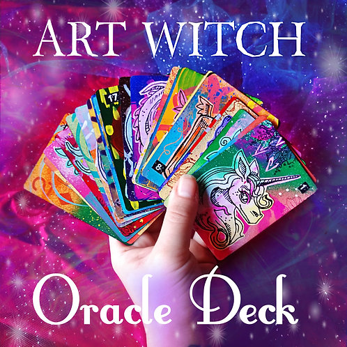 Art Witch Oracle Deck