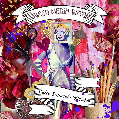 Mixed Media Witch Video Collection