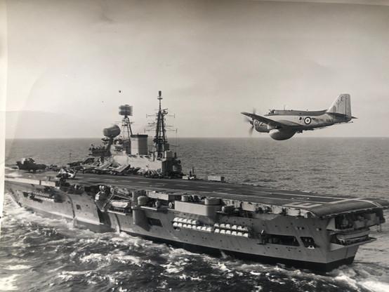 849D HMS EAGLE 1968
