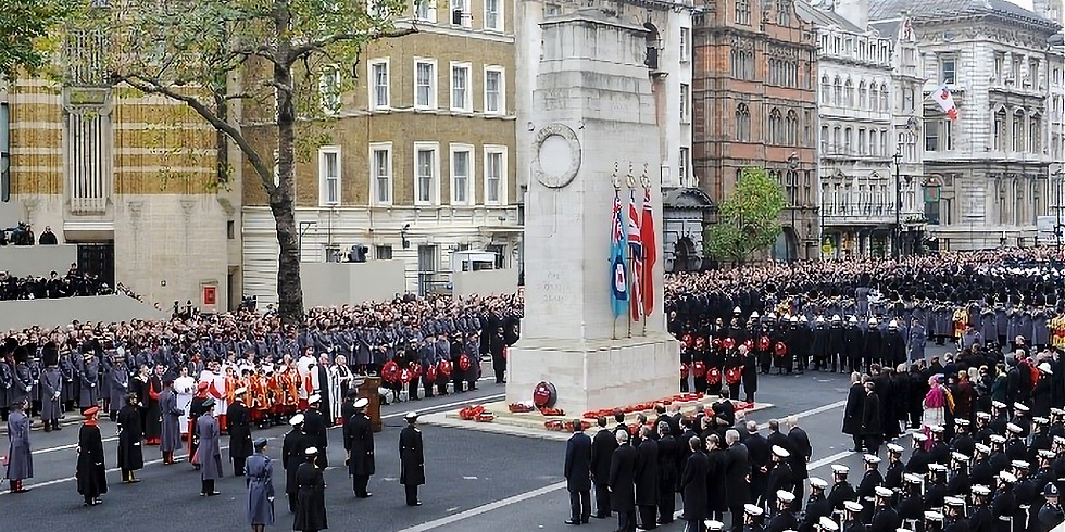 Remembrance Sunday Cenotaph March Past - CANCELLED