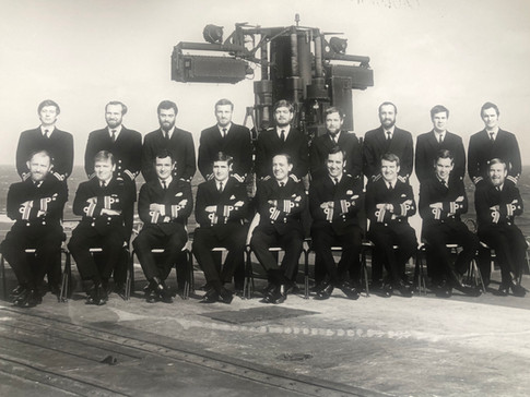 The Last Front Line Fixed Wing Observers, HMS ARK ROYAL 78