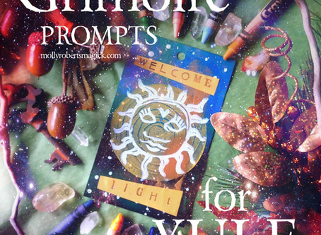 16 Grimoire Prompts for Yule Magick