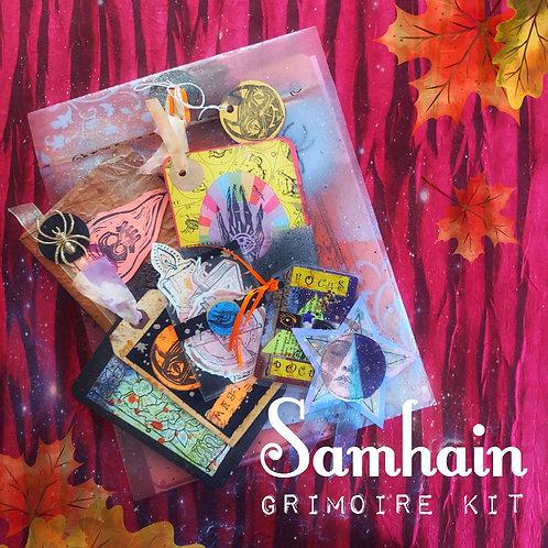 Samhain Grimoire Kit