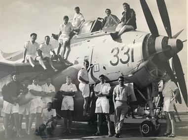 849B Officers, HMS HERMES 1968