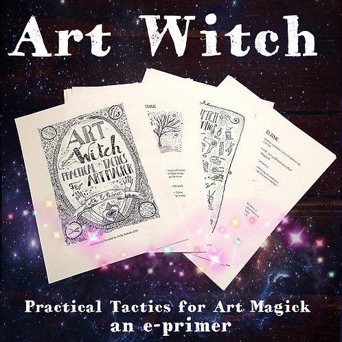 Art Witch: Practical Tactics for Art Magick E+ AUDIO Book