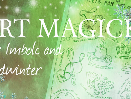Art Magick for Imbolc Printable