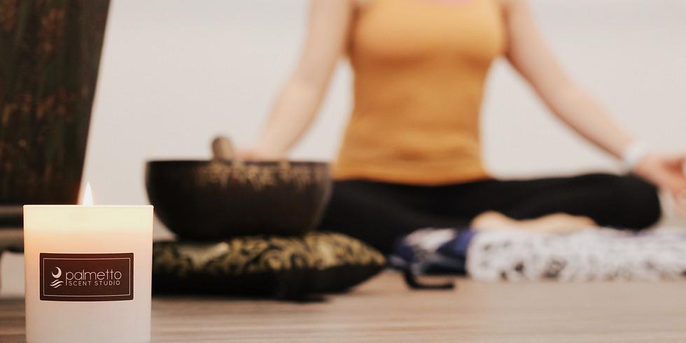 Candle Making & Gentle Yoga 2/16/19