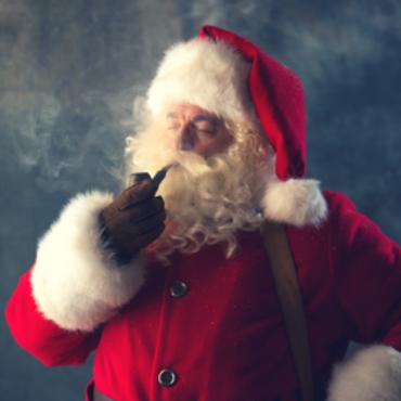 santa's pipe