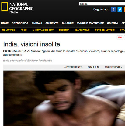 Unusual Visions  Emiliano Pinnizzotto National Geographic Italia