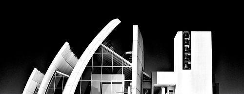 fotografia architettura Emiliano Pinnizzotto Chiesa Tor Tre Teste Dio Padre Misericordioso Richard Meier